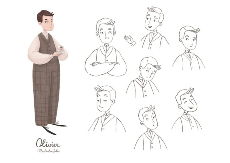 JuliaVanDerBos_Character_Olivier